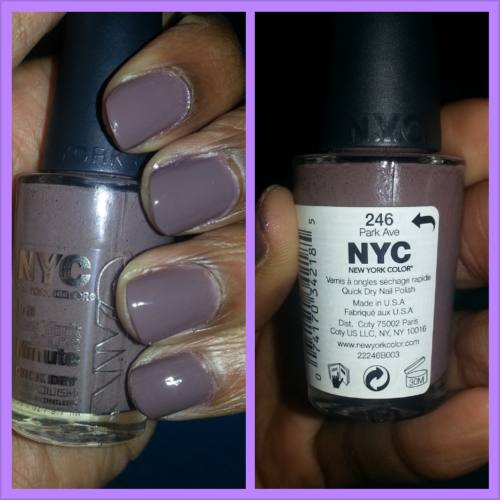 NYC Park Ave Nail Polish | Tyla Times